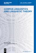 Corpus Linguistics and Linguistic Theory