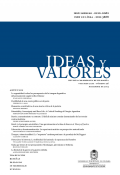Ideas y Valores